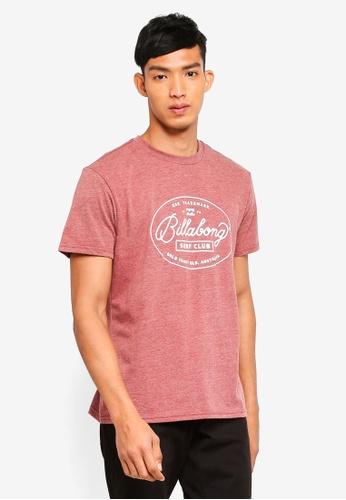 Billabong pink Club Tee F6657AA17C0843GS_1