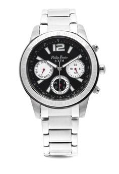 Analog Watch 2228SS-BK