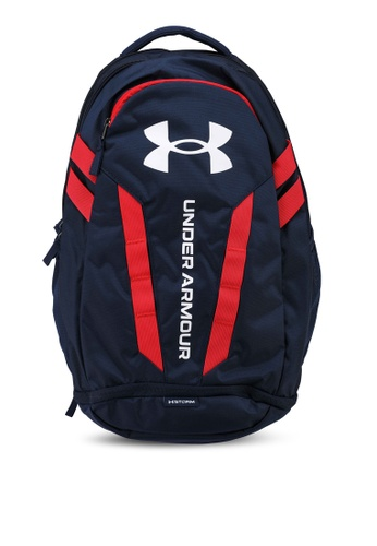 Under Armour blue Hustle 5.0 Backpack 70CBEAC75F0A30GS_1