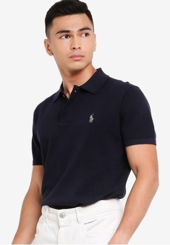Polo Ralph Lauren 海軍藍色 短袖POLO衫 875FAAA3B42DE2GS_1