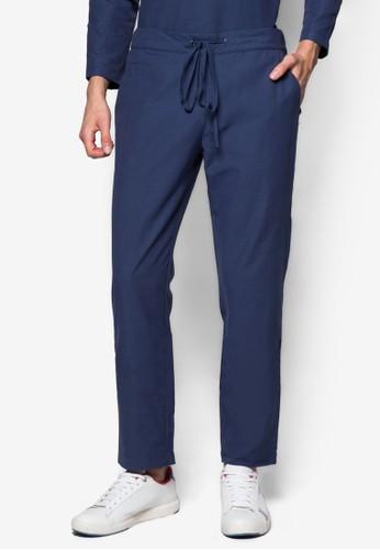 束口休閒長褲, esprit旗艦店服飾, 男性服飾