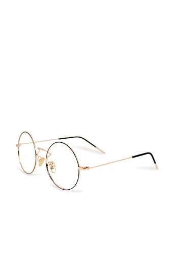 ASLLY black and gold Feast of Versailles palace│Anti-blue light glasses with golden detailed frame 7C901GL4512DECGS_1