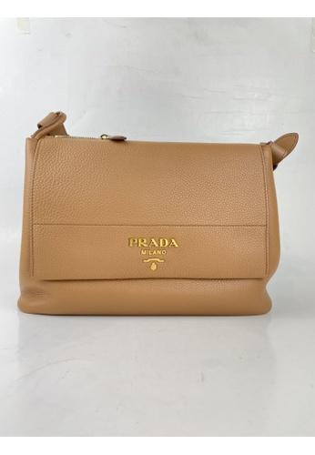 Prada beige PRE-LOVED PRADA DAINO SHOULDER FLAP BAG C922BAC375BBFDGS_1