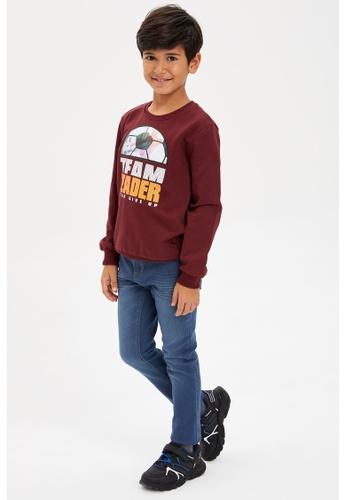 DeFacto blue Boy Denim Trousers FF92FKA693B868GS_1