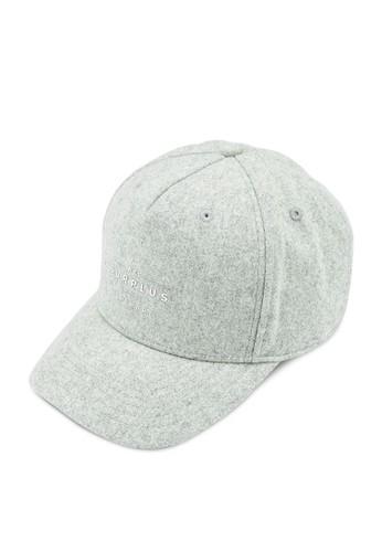 Superdry grey Surplus Baseball Cap E873EAC040E9BEGS_1