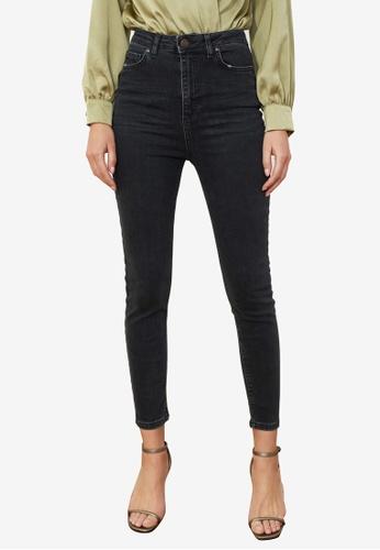 Trendyol black High Waist Skinny Jeans 8EA0BAA0F2B41AGS_1
