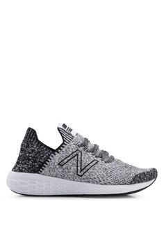 9388476c0ca4a New Balance black Cruz Future Sport Sock Shoes 42526SHDD11A23GS 1