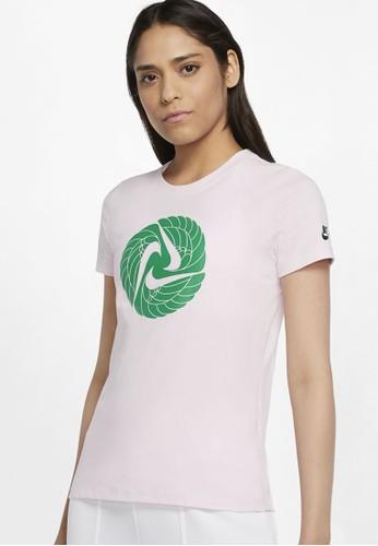 Nike pink AS Women's Sportswear Icon Clash 1 Tee 59333AA04EF58CGS_1