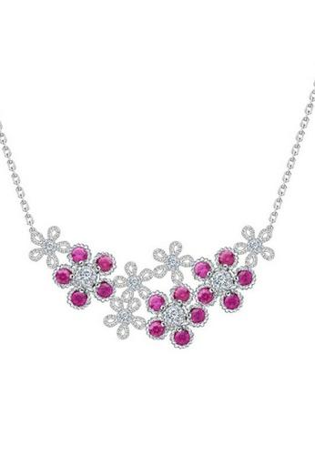 Vivere Rosse silver Jonas Spring Necklace VI014AC78BGRMY_1