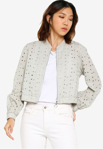 c8a6fafbc Cotton Embroidered Bomber