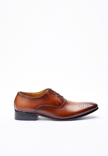 Kings Collection brown Dempsey Shoes 7D2B9SH2F22B1AGS_1