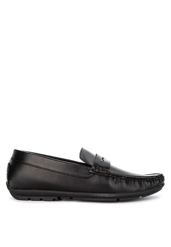 Italianos black Ayden Loafers 8D09ASH3EB67FAGS_1