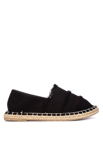 BENCH black Canvas Slip Ons A4847SH7FA692AGS_1