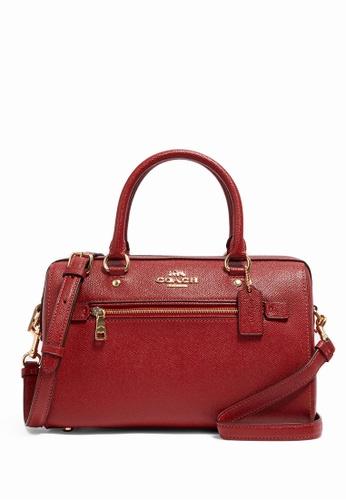 Coach red Coach Rowan Satchel Crossbody Bag - Red B43F3ACB61E414GS_1