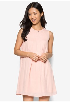 Collection Pleated Swing Dress