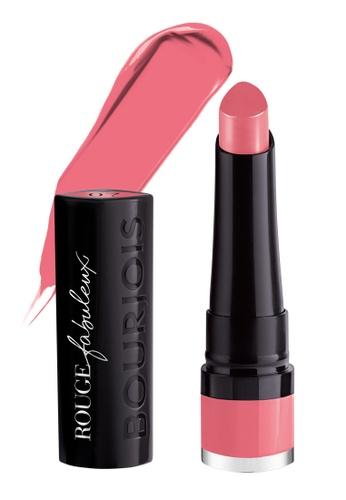 Bourjois pink Bourjois Rouge Fabuleux Lipstick #07 Perlimpinpink AEC9EBE9764C08GS_1