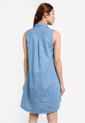 Buy Something Borrowed Sleeveless Utility Shirt Dress Online | ZALORA  Malaysia