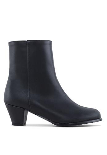 SPUR black Minimalism Ankle Boots SP246SH64KHJHK_1