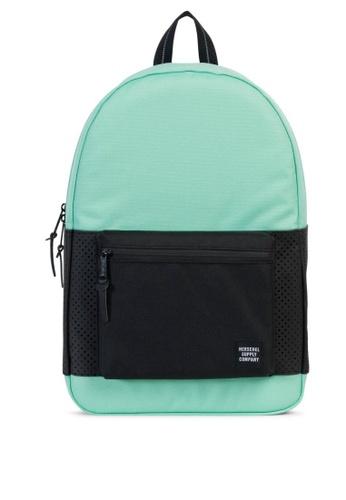 Herschel green Settlement Aspect Backpack HE958AC0KA58PH_1