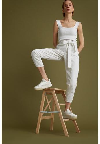 DeFacto beige Woman Woven Trouser 5B13DAA4221A16GS_1