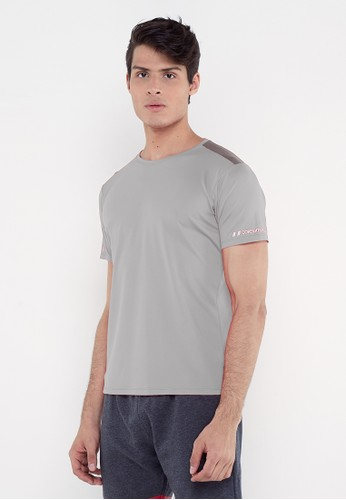 Corenation Active grey Edin Short Sleeve - Light Grey 9CA50AA4B39D99GS_1