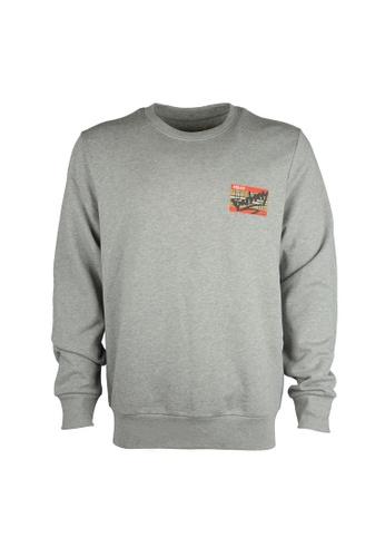 Burberry grey Burberry Sweatshirt in Pale Grey B01D0AA82D655BGS_1