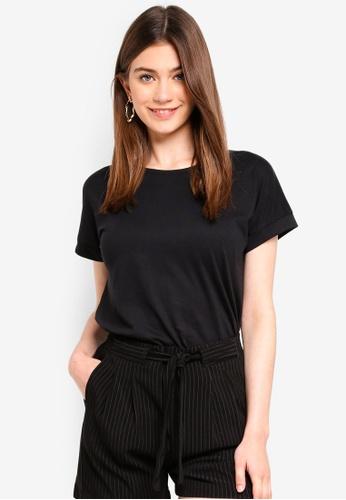 JACQUELINE DE YONG black Louisa Fold Up Top 5BA61AA9B3201FGS_1