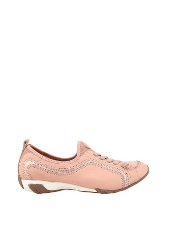 Buy Hush Puppies Hush Puppies Qualify In Pale Peach Online On Zalora Singapore