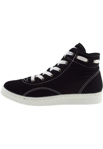 Maxstar Maxstar Women's 020 Hidden Heel Canvas Tennis Shoes US Women Size MA168SH68BVVHK_1