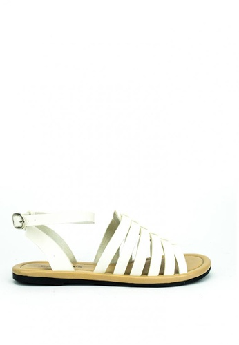 Cardam's Lifestyle white Cardam's Thalia Flats C731ESHE9FB9C3GS_1