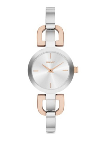 DKNY silver and gold DKNY D-Link Watch NY2137 DK097AC92RQLMY_1