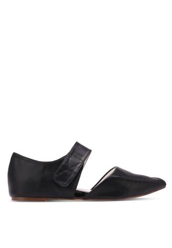 Nose black Fashion Flat Pumps NO327SH0S6TKMY_1