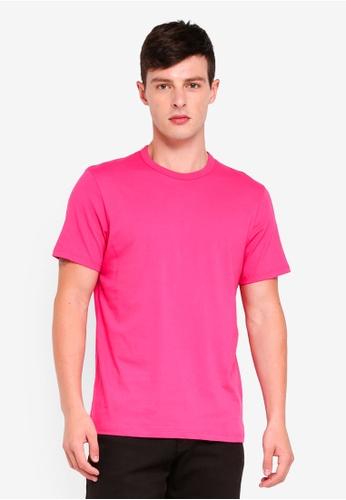 Topman 粉紅色 短袖T恤 8FBB3AA6AE9F81GS_1