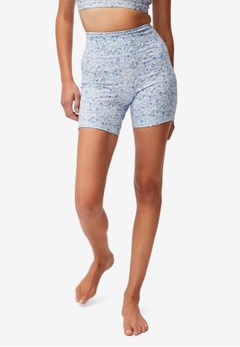 Cotton On Body blue Lifestyle Pocket Bike Shorts EE157AA55F530DGS_1