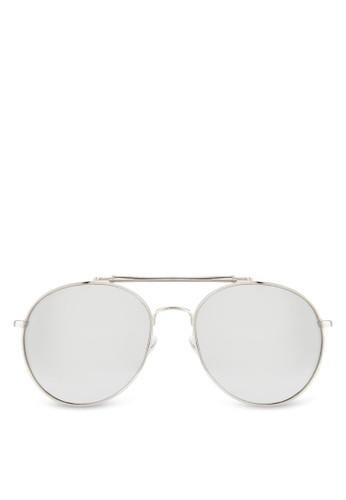 JP0400 雙鏡橋飛行員太陽眼鏡, 飾品配esprit hong kong 分店件, 飾品配件