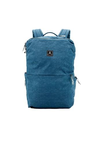MORAL blue Baxter Backpack - Demin 7A784AC7024427GS_1