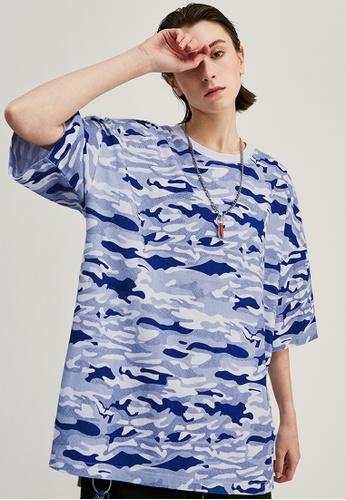 Twenty Eight Shoes Oversize Camouflage Short T-Shirts 1150S20 5DD0EAACD31755GS_1