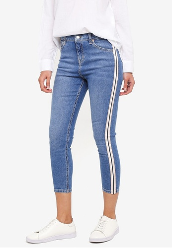 aba26c27 Buy TOPSHOP Petite Side Stripe Jamie Jeans Online on ZALORA Singapore