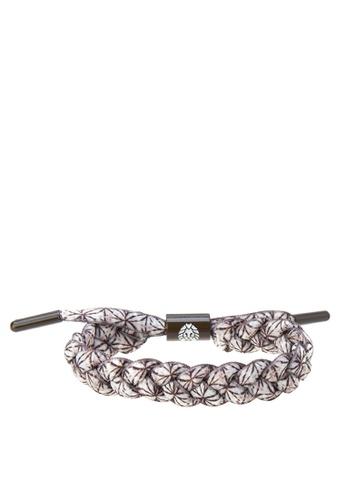 Rastaclat brown Shoelace Bracelet: Java RA072AC0JYOXPH_1