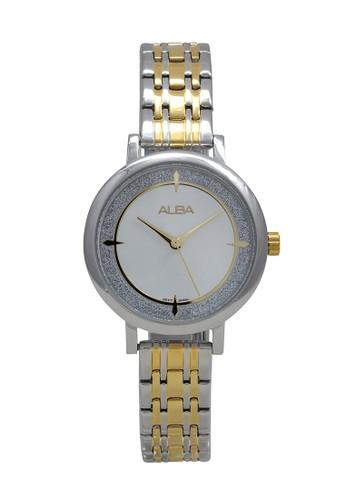 Alba gold and silver ALBA Jam Tangan Wanita - Silver Gold - Stainless Steel - AH8527 FB8CDAC5E570BDGS_1