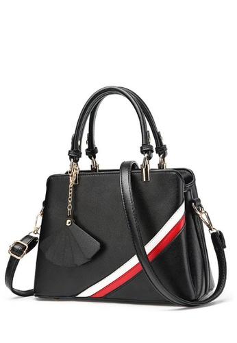 TCWK black TCWK Korea Style Black Ladies Handbag TC258AC0SKYMMY_1