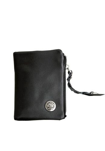 Twenty Eight Shoes Skull Rivet Genuine Leather Wallet LS6093 97702AC191CF51GS_1