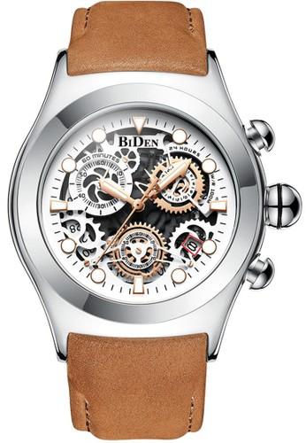 Biden Watch white Jam tangan fashion pria Biden dirancang agar tahan lama, minimalis, rapat