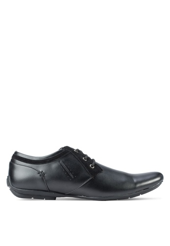Macerio black Lace-up Business Shoes MA176SH33LSCMY_1