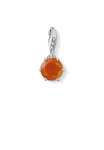 "THOMAS SABO silver Charm pendant ""birth stone January"" FF606AC1153494GS_1"