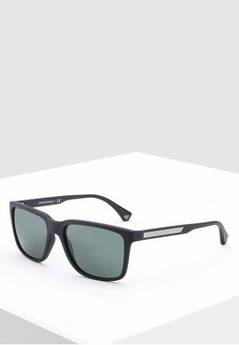 940610a2f1f1 Emporio Armani black Modern EA4047 Sunglasses D770DGL6919620GS 1