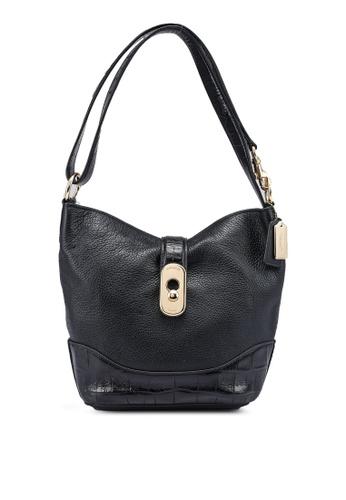 Coach black Amber Duffle Bag (cv) 70AB3AC1352846GS_1
