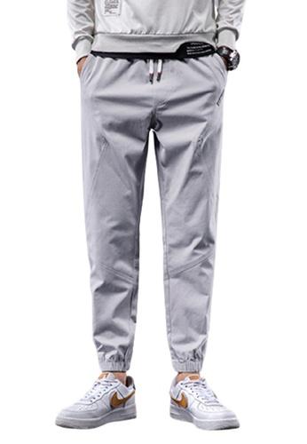 Trendyshop grey Skinny Jogger Pants 1A784AA1A07C80GS_1