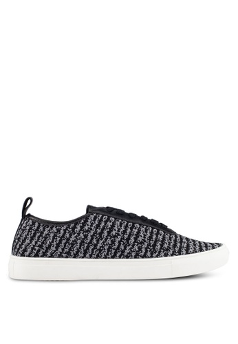 Kenneth Cole New York black and grey DESIGN 20287 - Lace Sneakers KE615SH0RMM4MY_1