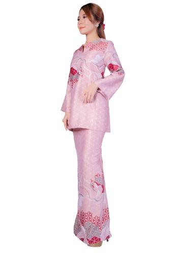 SARIMA pink Kurung Kedah Modern Batik Pink 1D9C3AA944DA5DGS_1